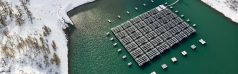 Romande Energie's high-altitude floating solar farm wins award in 2021 Watt d'Or competition